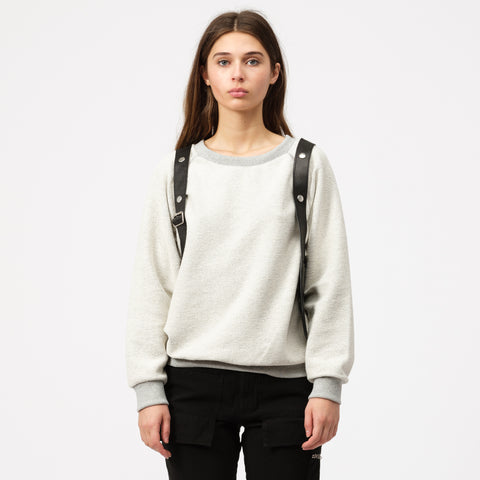 Pihakapi Sweatshirt with Leather Holster in Isabelline - Notre