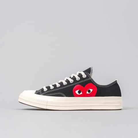 x CDG Play CT70 Low in Black
