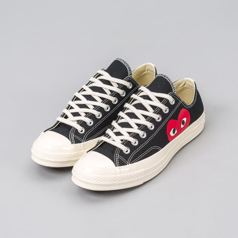 Converse x CDG Play CT70 Low in Black - Notre