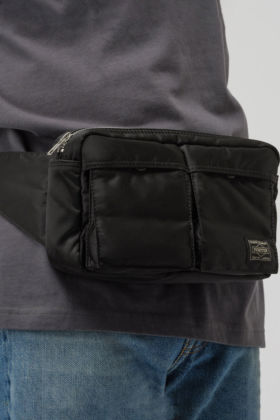 Porter TANKER Waist Bag in Black - Notre