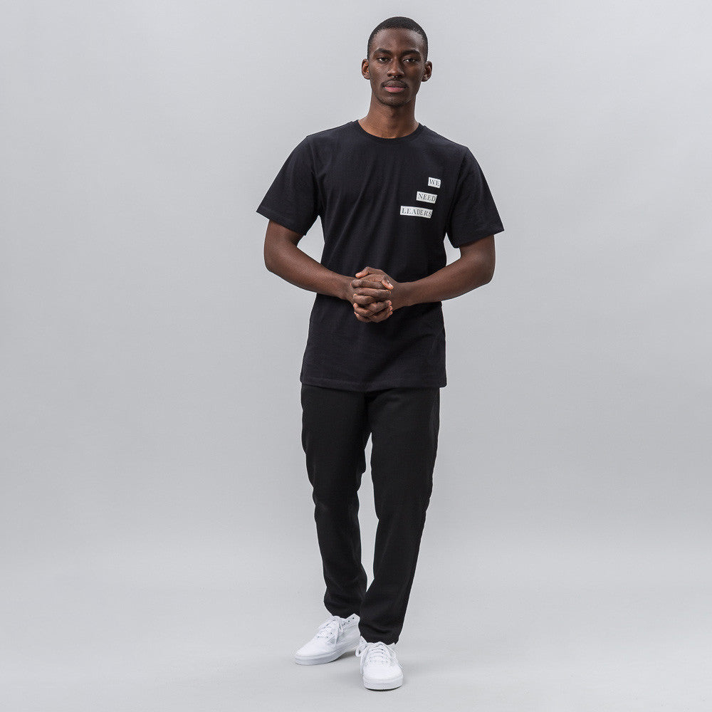 Public School Kissen T-Shirt with WNL Print in Black Notre 1