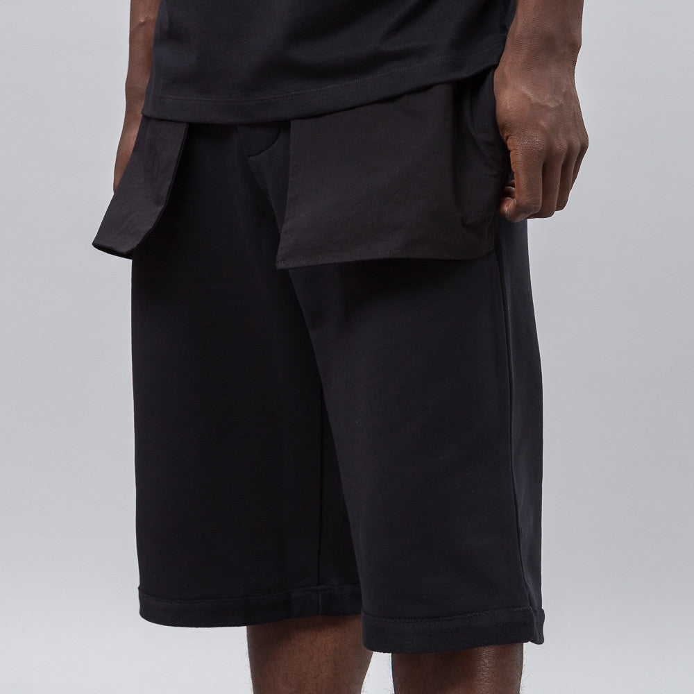 Public School Mono Short in Black Notre 1