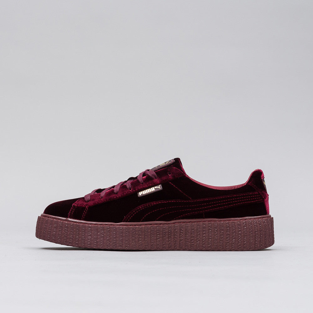x Fenty Creeper in Purple Velvet