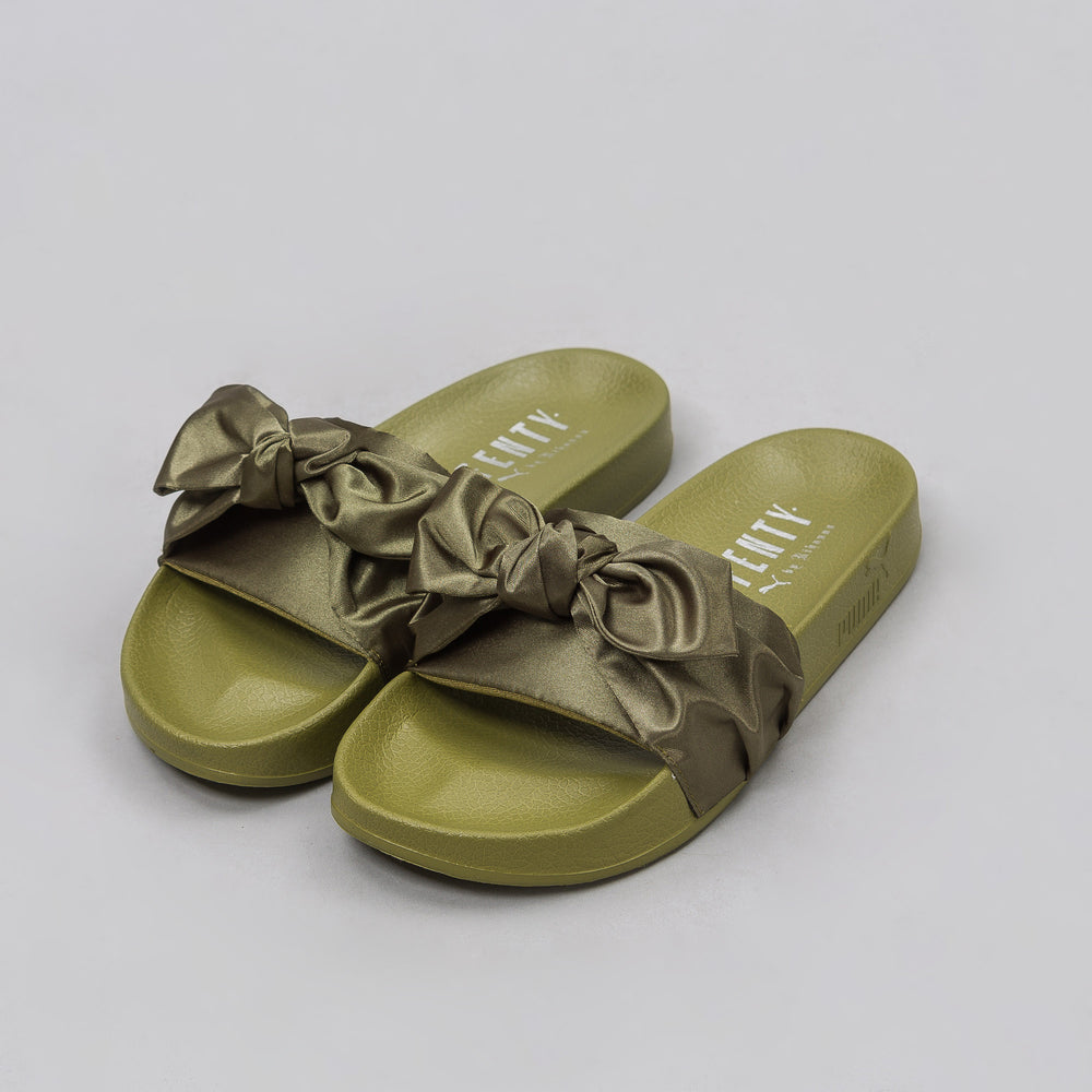 Puma Women's Bow Slide in Green - Notre