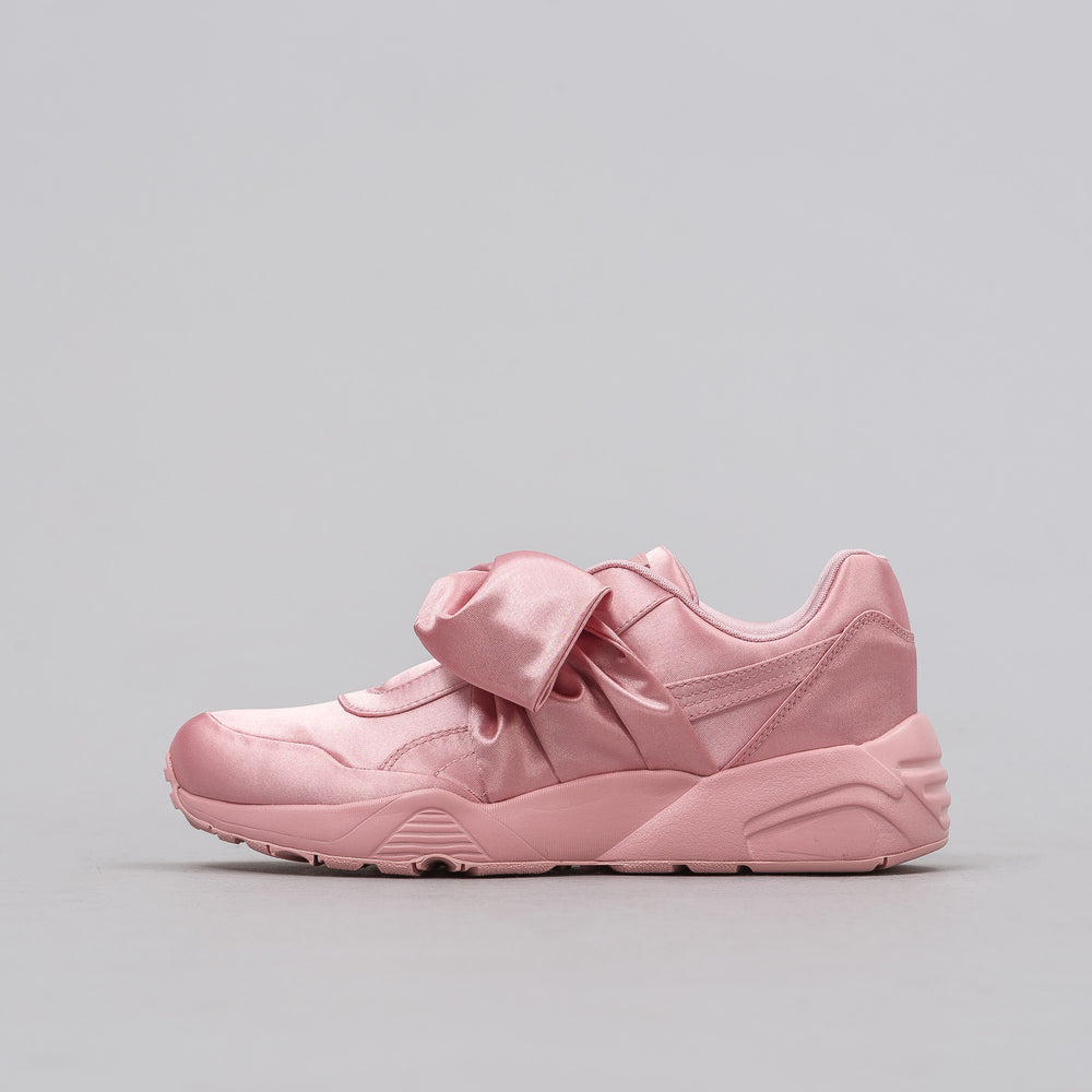 Puma Women's Bow Trinomic Sneaker in Pink - Notre