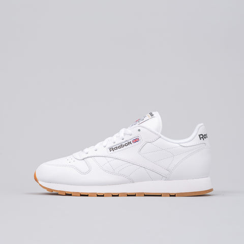 Reebok Classic Leather in White/Gum - Notre