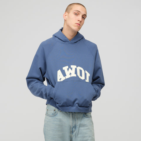 Reese Cooper AWOI Hoodie in Blue/White - Notre