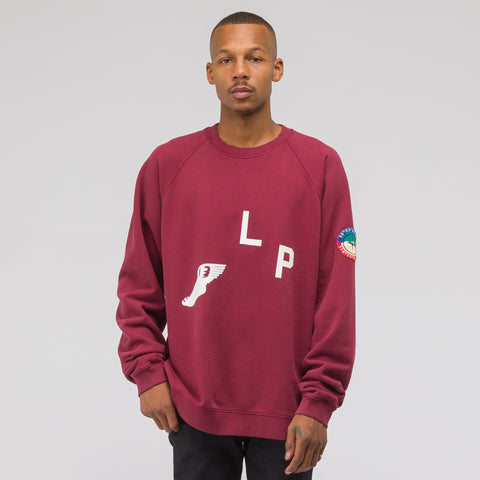 Reese Cooper Cross Country Sweatshirt in Burgundy - Notre