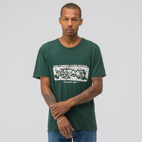 Reese Cooper Forest Park School T-Shirt in Forest/White - Notre