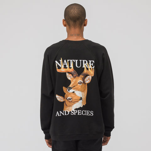 Reese Cooper Nature and Species Sweatshirt in Black - Notre