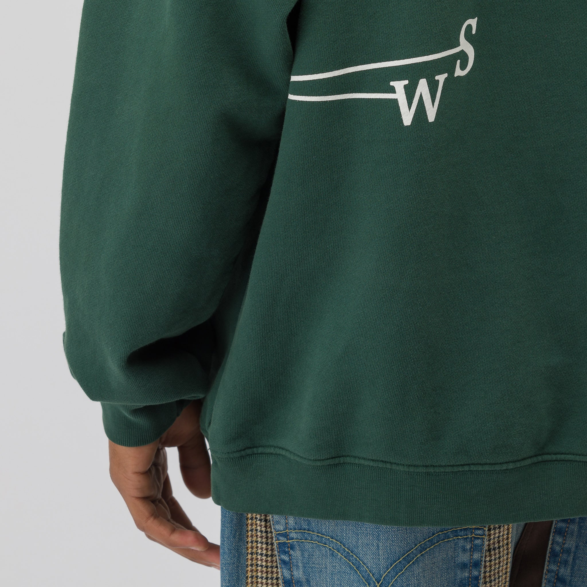 Weathervane Hoodie in Forest