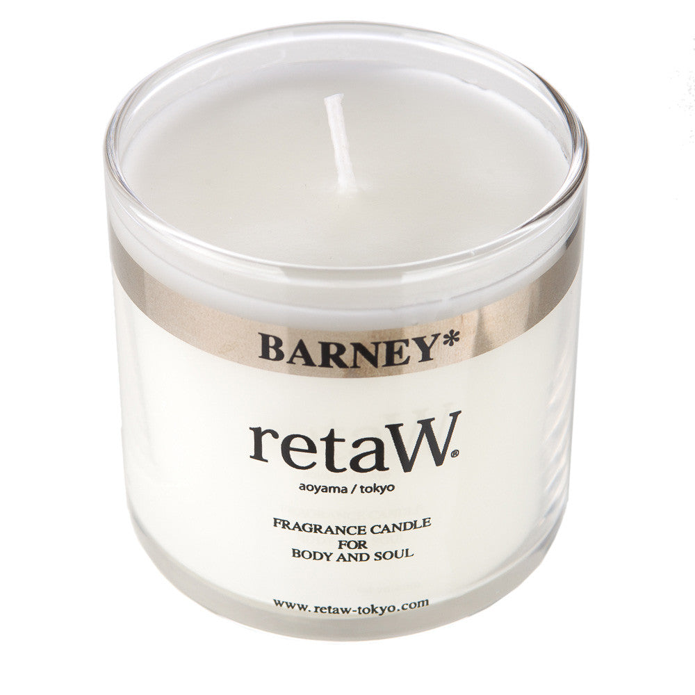retaW Fragrance Candle in Barney