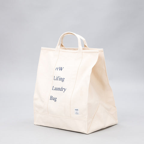 retaW Lifing Laundry Bag in Natural - Notre