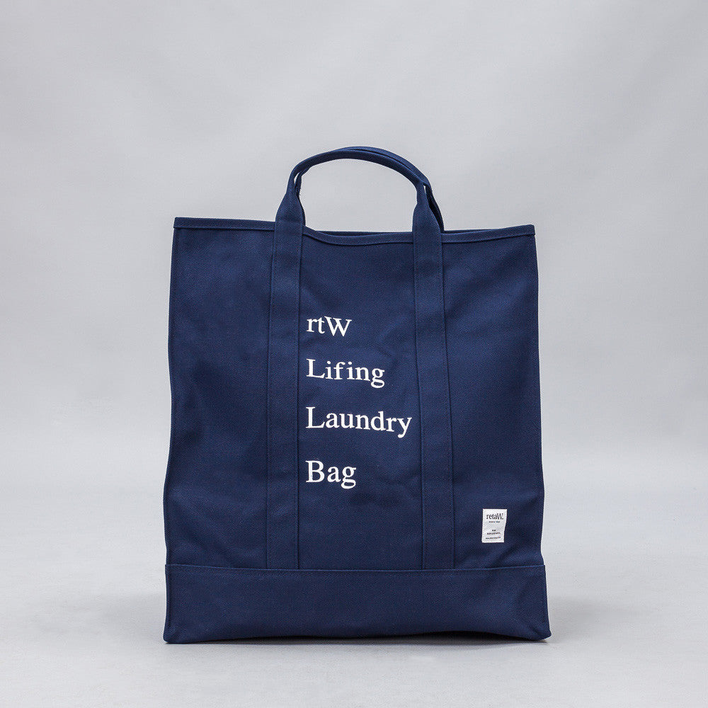 retaW - Lifing Laundry Bag in Navy - Notre - 1