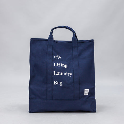 retaW Lifing Laundry Bag in Navy - Notre