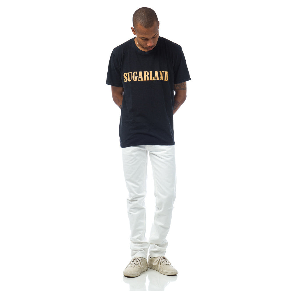Rhude Sugarland Tee in Vintage Black Model Shot