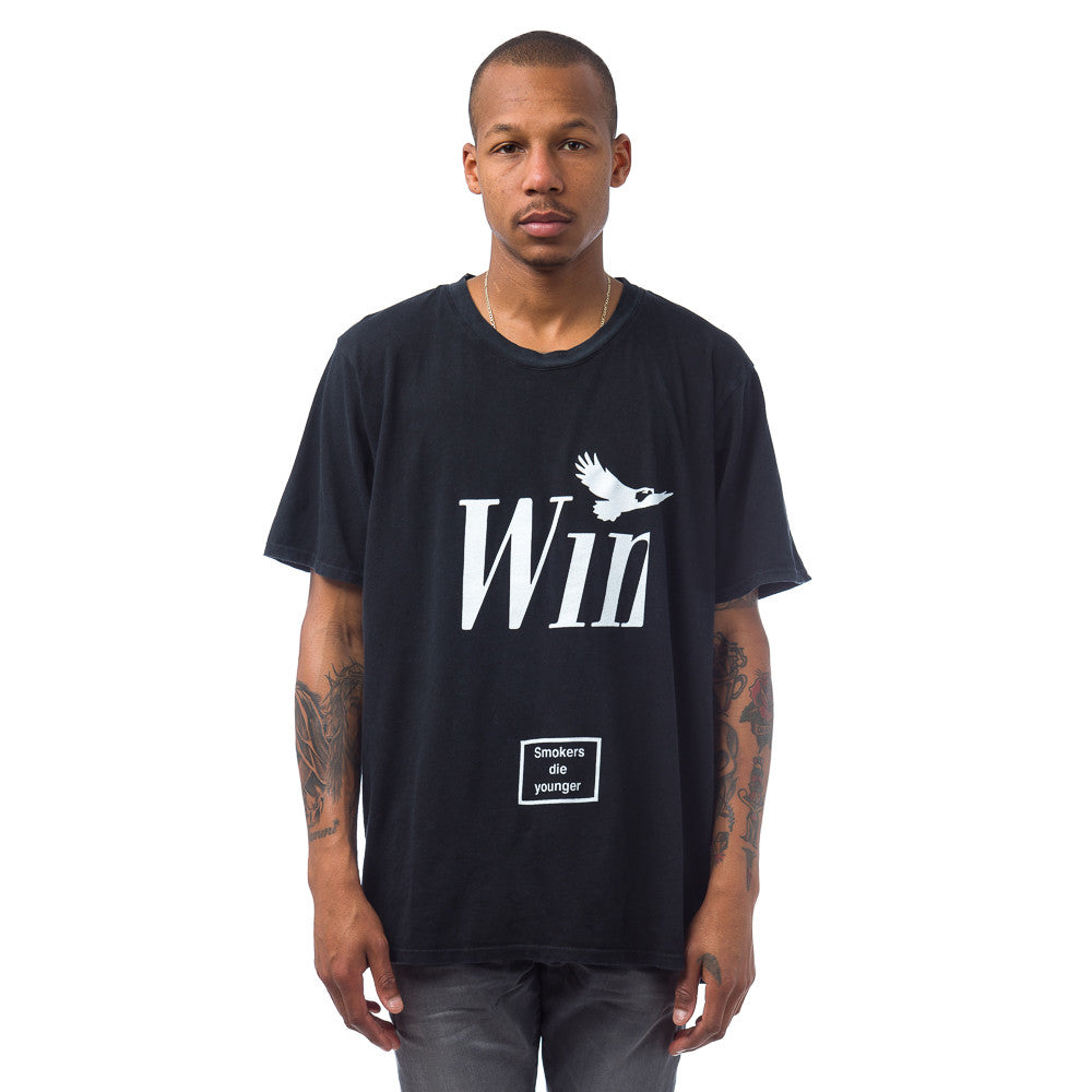 Rhude Winston Tee in Vintage Black Model View