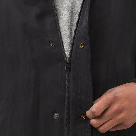 Robert Geller Casper Bomber in Black/Charcoal - Notre