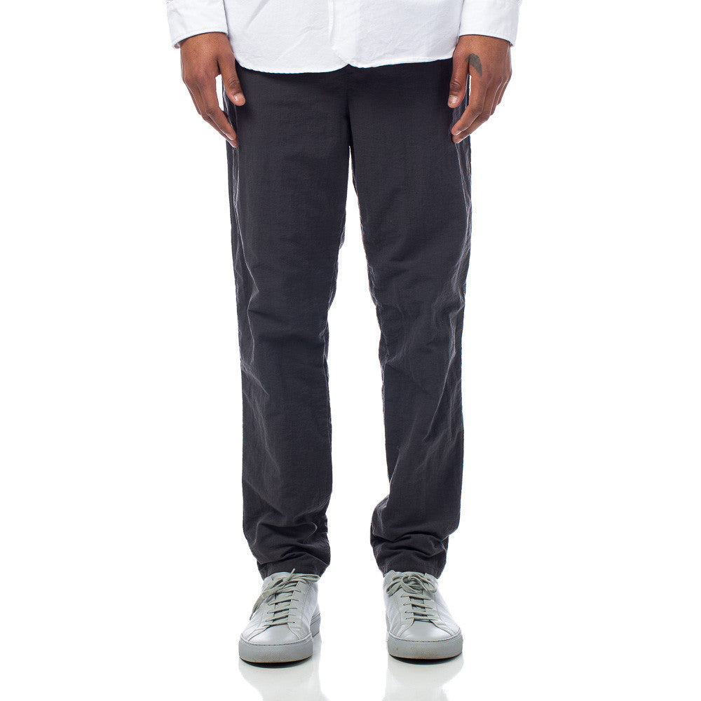 Robert Geller Garment Dyed Pant in Charcoal