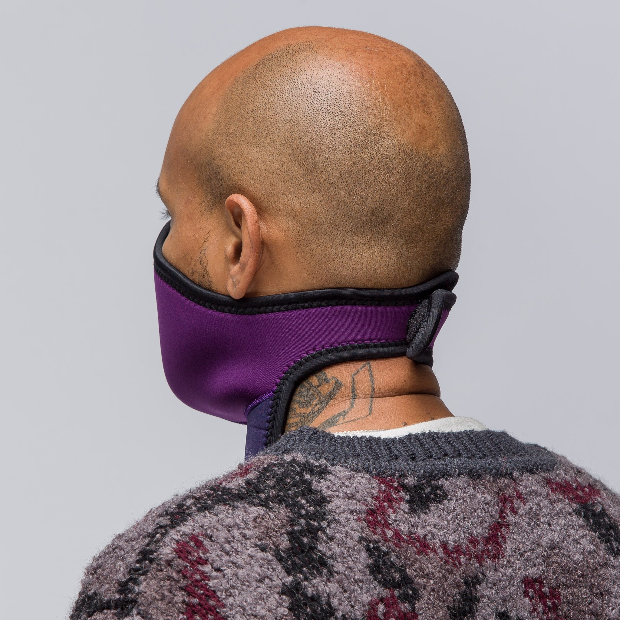 Neoprene Mask in Purple/Navy
