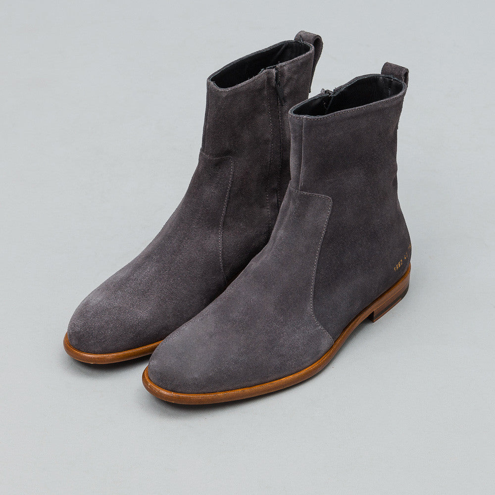 Robert Geller - Robert Geller x Common Projects Chelsea Boots in Charcoal - Notre - 1