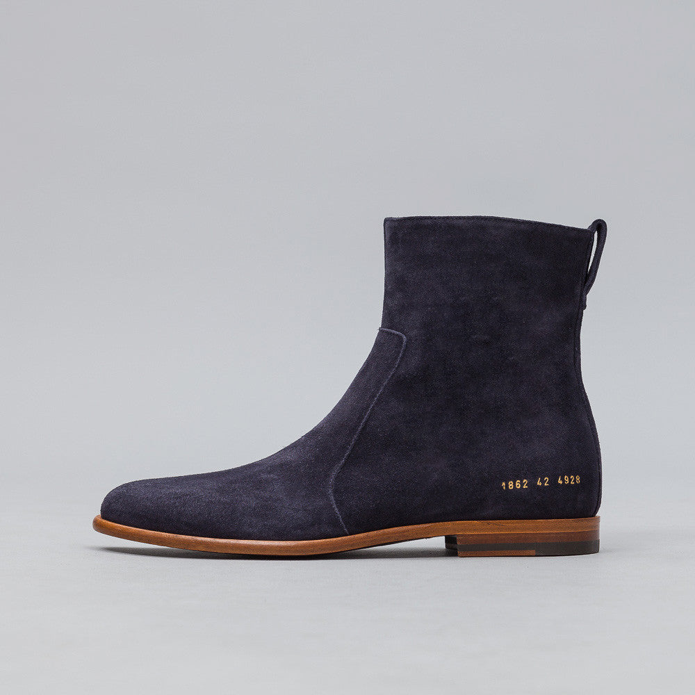 Robert Geller x Common Projects Chelsea Boots in Midnight
