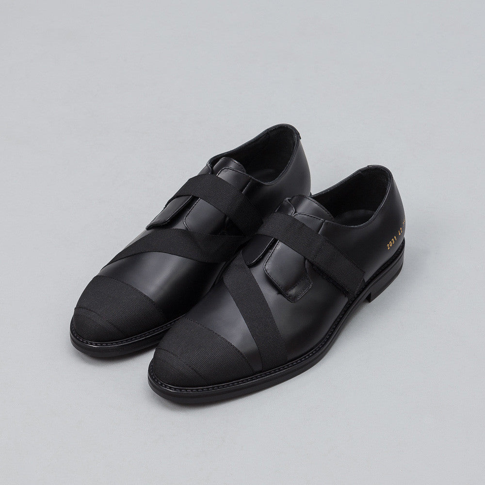 Robert Geller - Robert Geller x Common Projects Grosgrain Derby Shoe - Notre - 1