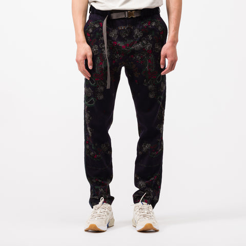 Floral Pant in Navy