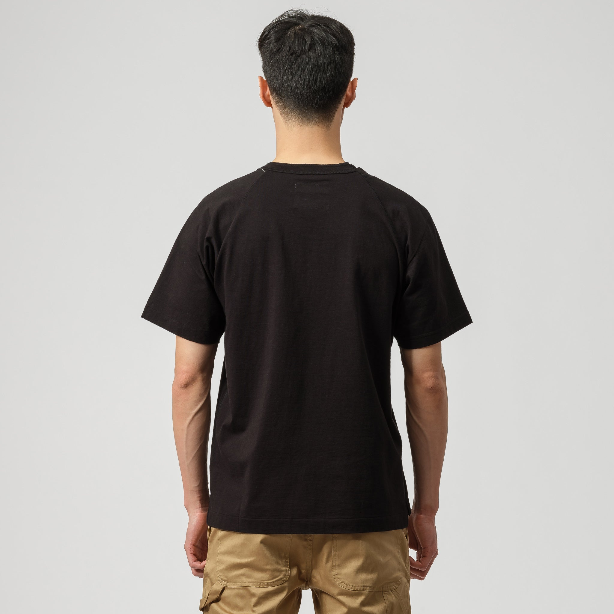 x Dr Woo Embroidered T-Shirt in Black