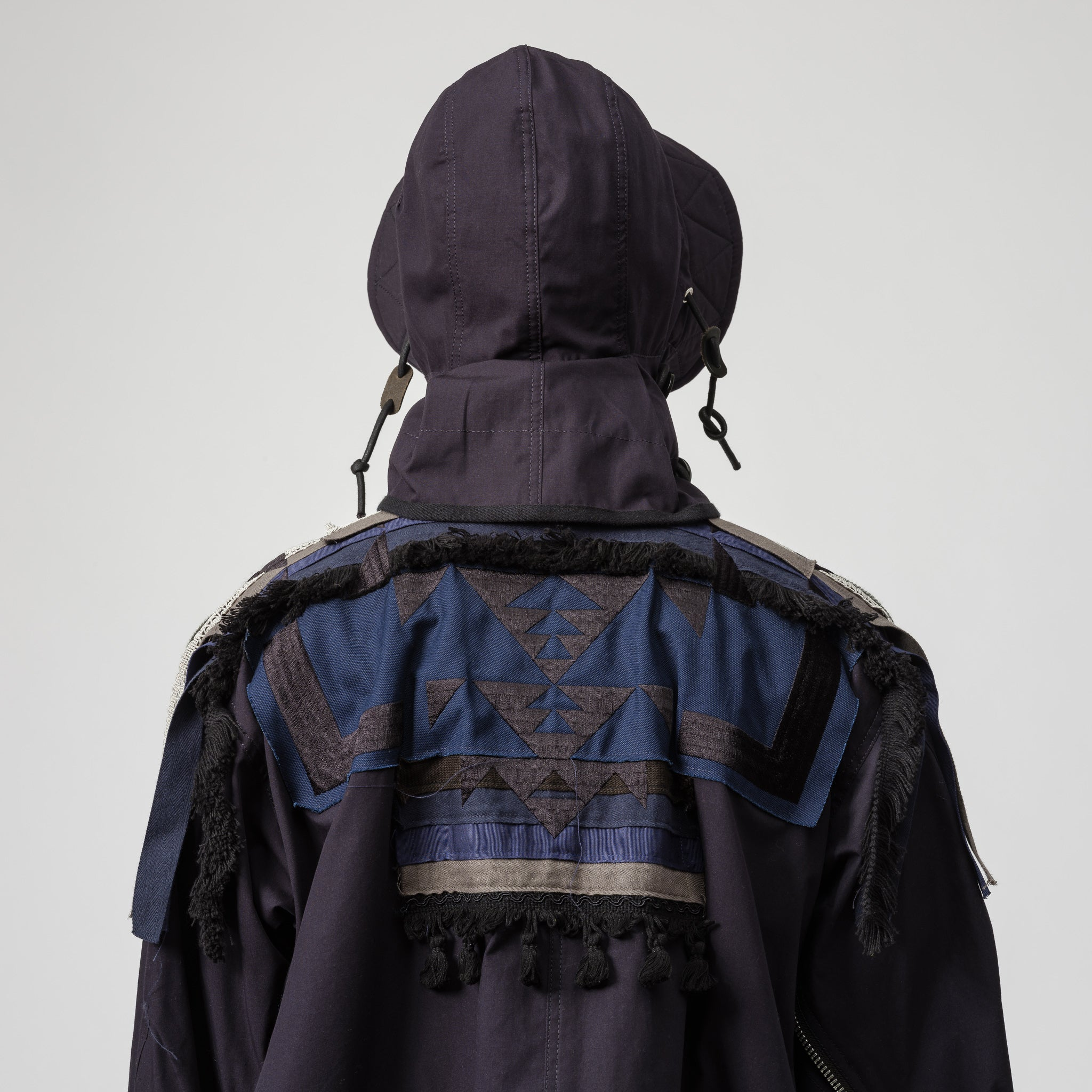 x Pendleton Embroidered Coat in Navy
