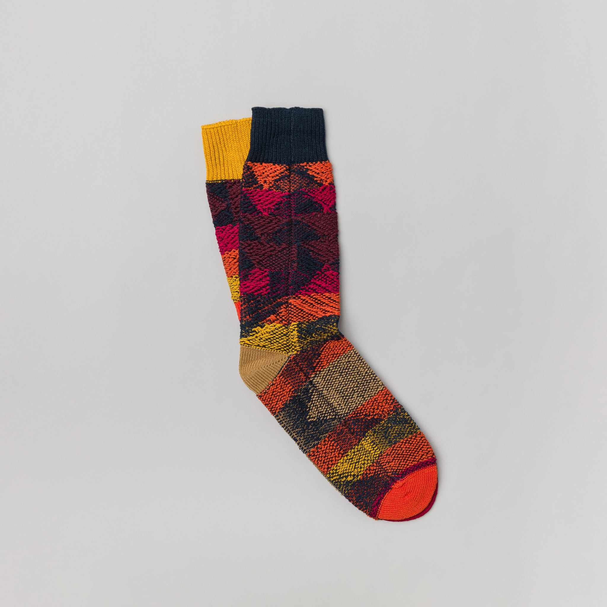 247a85ff7 sacai Pendleton Socks in Navy | Notre