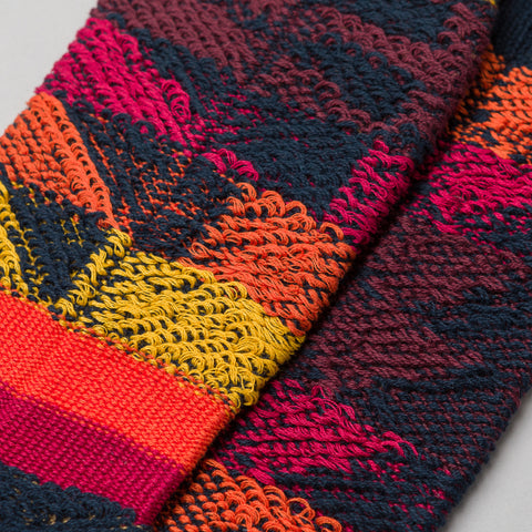 sacai Pendleton Socks in Navy - Notre