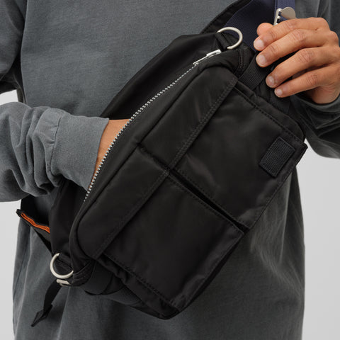 sacai x Porter Bag in Black/Navy - Notre
