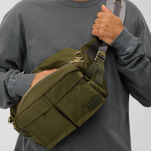sacai x Porter Bag in Khaki/Gold - Notre
