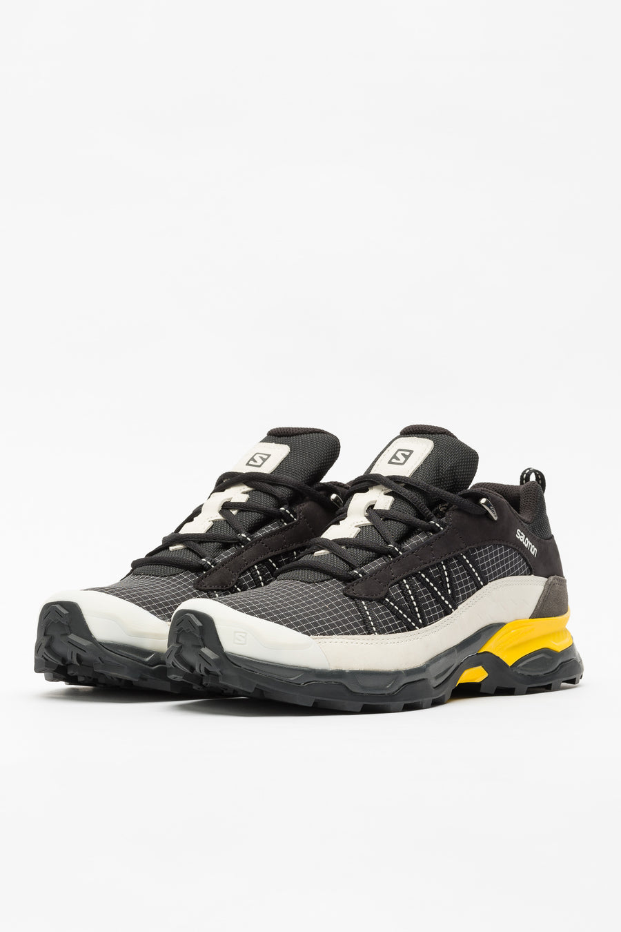 SALOMON S/LAB Shelter Low LTR ADV in Black/Vanilla/Yellow - Notre
