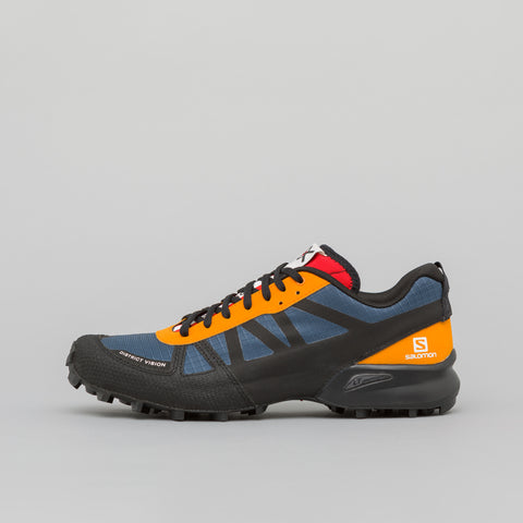 District Vision x Salomon S Lab Chadwick Mountain Racer in Blue - Notre
