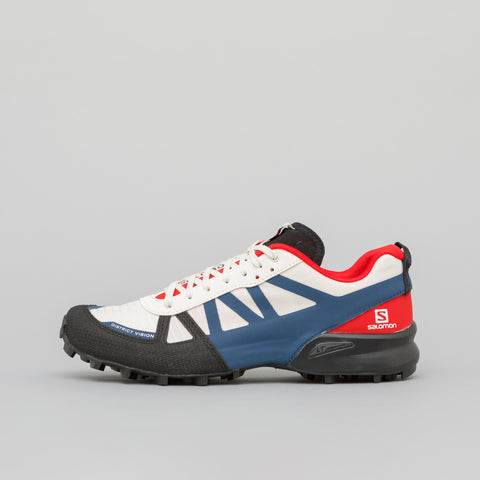 District Vision x Salomon S Lab Chadwick Mountain Racer in White - Notre