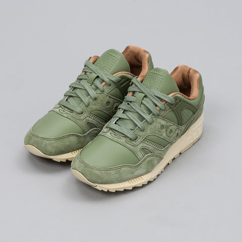 Saucony Grid SD in Olive Green - Notre
