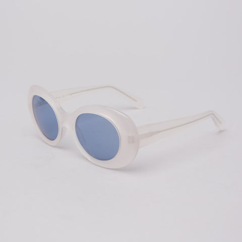 Acne Studios Mustang in White Clear/Blue - Notre
