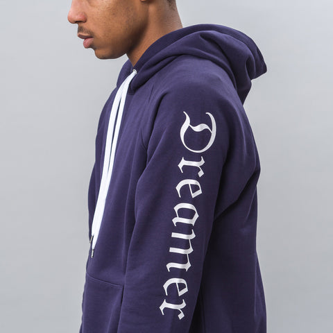 Second Layer Big Dreamer Hoodie in Navy - Notre