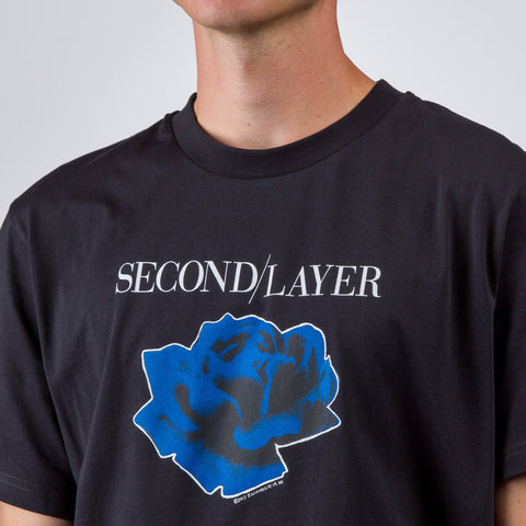 Second Layer Disconnect Tour T-Shirt in Black - Notre