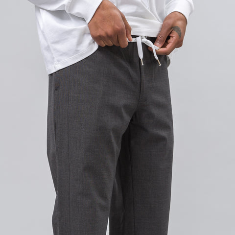 Second Layer Elastic Waist Trouser in Charcoal - Notre