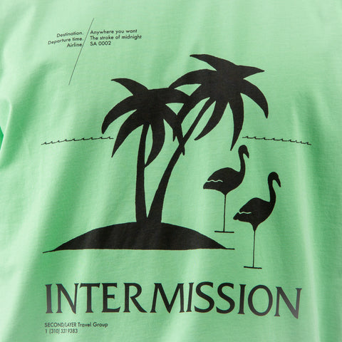 Second Layer Intermission T-Shirt in Neon Green - Notre