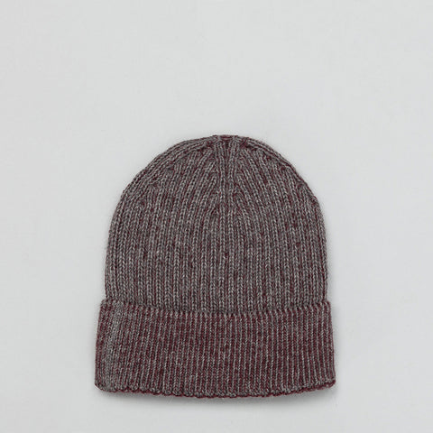 Stephan Schneider Bay Cap in Steel/Burgundy - Notre