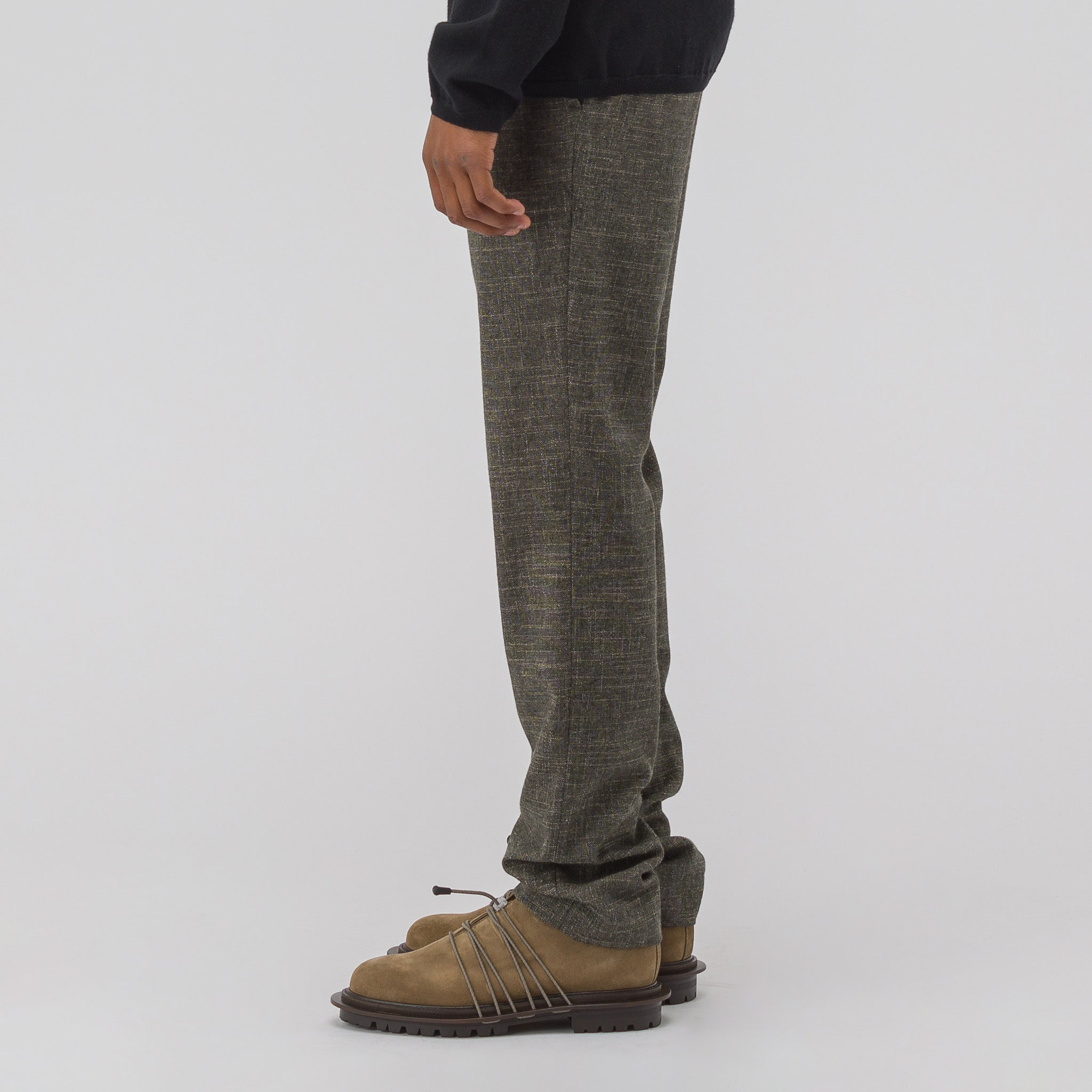 Comb Trousers in Khaki