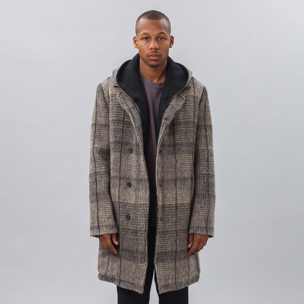 Stephan Schneider - Conservation Coat in Check - Notre - 1