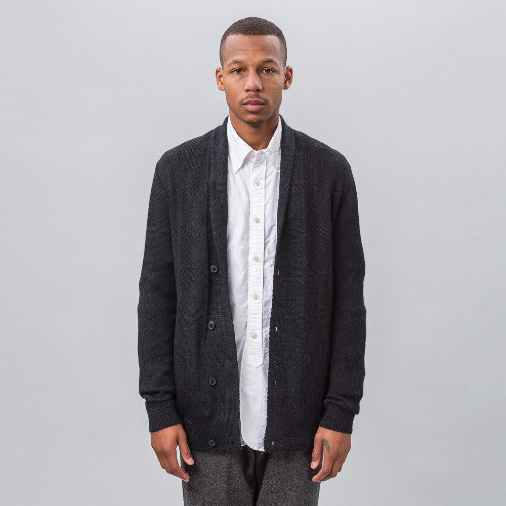 Notre Exclusive - Mountains Cardigan in Navy/Black