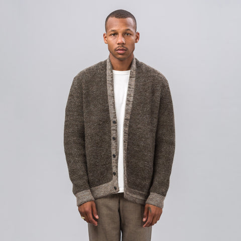 Stephan Schneider Night Cardigan in Olive Melange - Notre