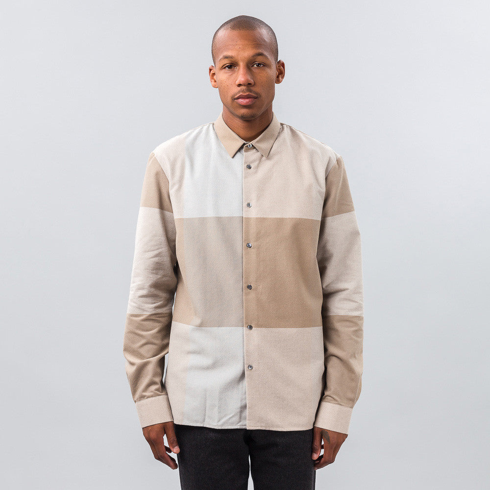 Stephan Schneider - Painting Shirt in Camel - Notre - 1