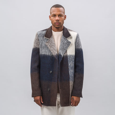 Stephan Schneider Present Jacket in Geometric Brushed Wool - Notre